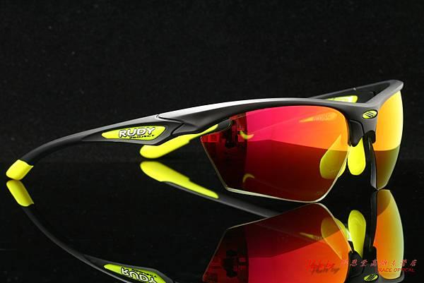 Rudy Project STRATOFLY 太陽眼鏡 & 高階運動型紅色水銀有度數近視鏡片