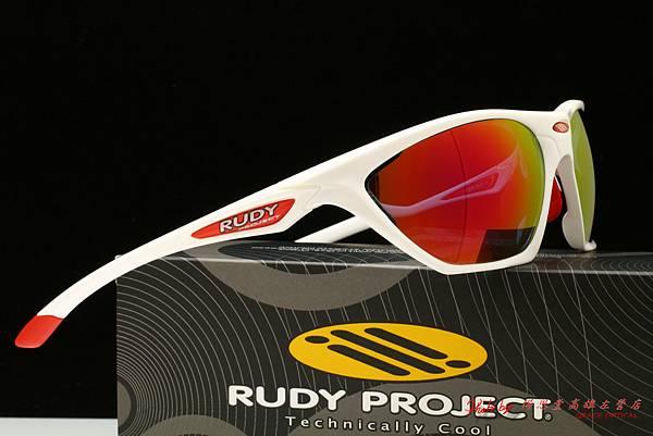 Rudy Project FIREBOLT 太陽眼鏡 & 高階運動型紅色水銀有度數近視鏡片