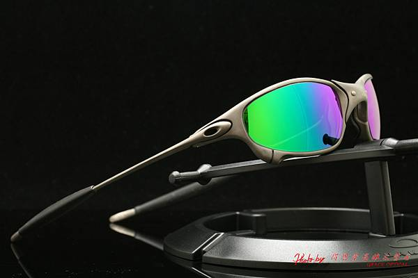 OAKLEY X METAL Juliet & 高階運動型近視有度數綠色鍍膜太陽眼鏡鏡片