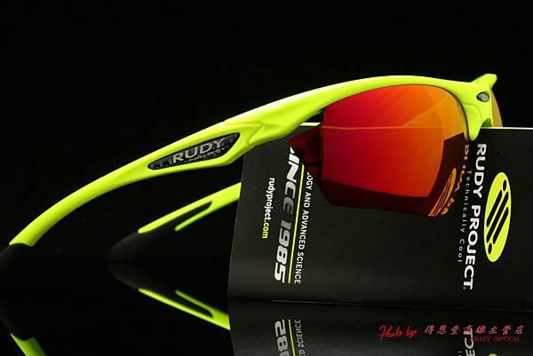 Rudy Project STRATOFLY 太陽眼鏡 & 高階運動型偏光紅色水銀有度數近視鏡片