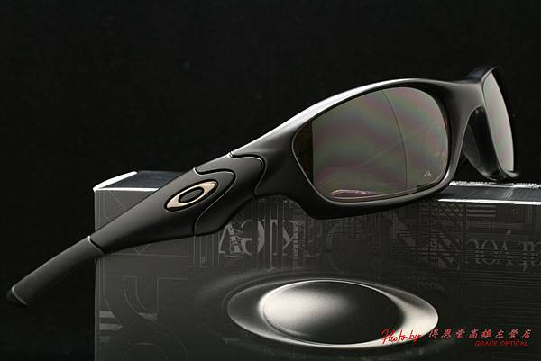 OAKLEY US STANDARD ISSUE STRAIGHT JACKET 11-014 & 高階近視有度數抗衝擊偏光太陽眼鏡鏡片
