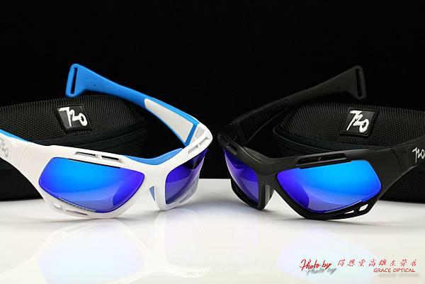 720armour STINGRAY B330水上運動系列&近視彩色藍鍍膜有度數運動太陽鏡片