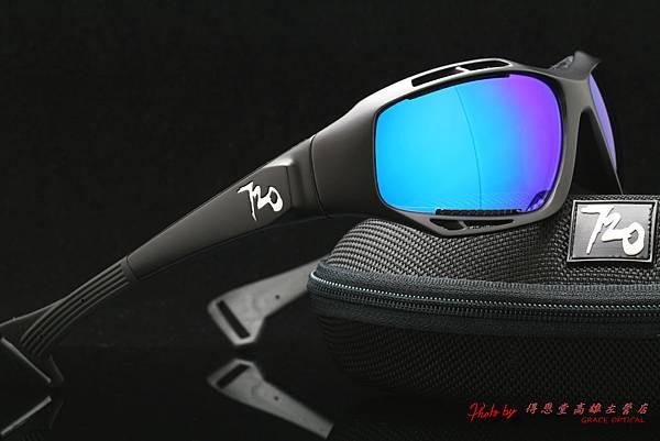 720armour STINGRAY B330-1 水上運動系列&近視彩色藍鍍膜有度數運動太陽鏡片