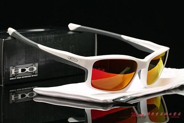 OAKLEY CHAINLINK OO9247-07太陽眼鏡&高階近視有度數偏光紅鍍膜太陽眼鏡鏡片