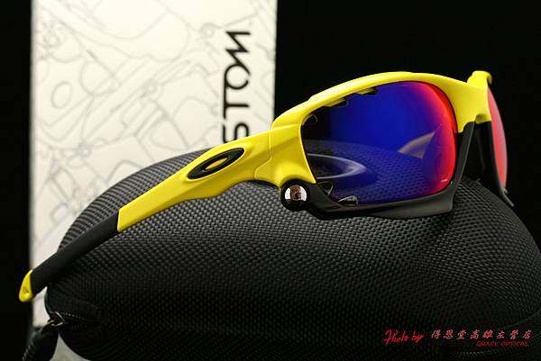 OAKLEY Custom Racing Jacket 冠軍版配色太陽眼鏡 (原JAWBONE)