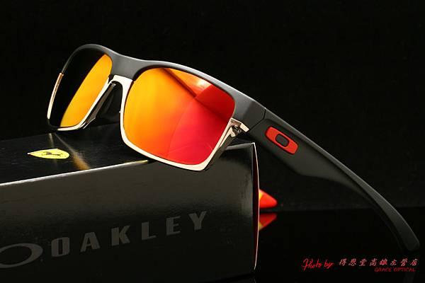 OAKLEY FERRARI TWOFACE ASIAN FIT OO9256-08 亞洲版 法拉利系列太陽眼鏡 & 高階運動型紅水銀有度數近視鏡片