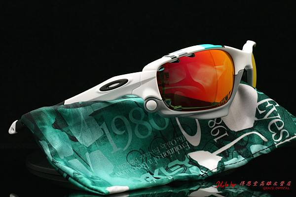 OAKLEY Racing Jacket 30週年紀年版 OO9171-24(原JAWBONE) & 高階近視有度數紅鍍膜偏光太陽鏡片