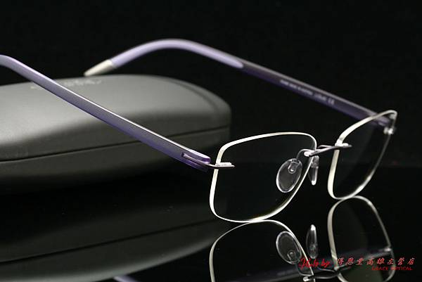 Silhouette奧地利詩樂眼鏡 SPX SIGNIA 無螺絲設計無重量無邊鏡架