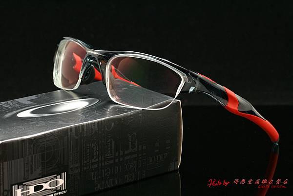 OAKLEY HALF JACKET 2.0 OO9153-11 ASIAN FIT(亞洲版)&高階第七代全視線視無線運動版變色鏡片