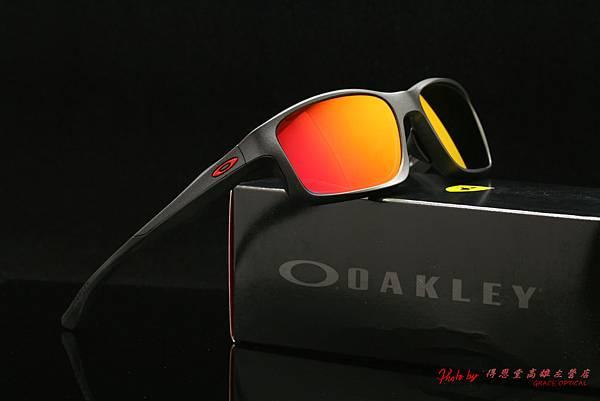 OAKLEY Ferrari Chainlink OO9252-10 法拉利聯名版太陽眼鏡&高階近視有度數紅鍍膜太陽眼鏡鏡片