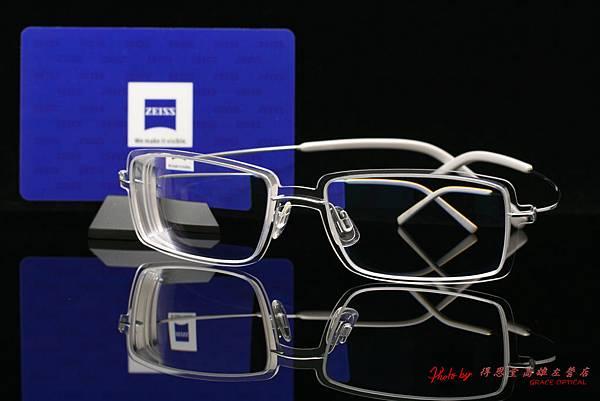 SYNERGY eyewear 4710 光學眼鏡 & ZEISS蔡司3D新極品Asiana煥視變色鑽立方鉑金鍍膜鏡片