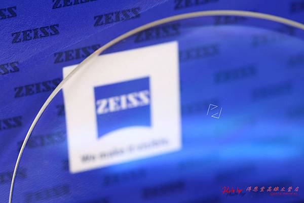 蔡司ZEISS樹脂單光鑽立方鉑金鍍膜鏡片