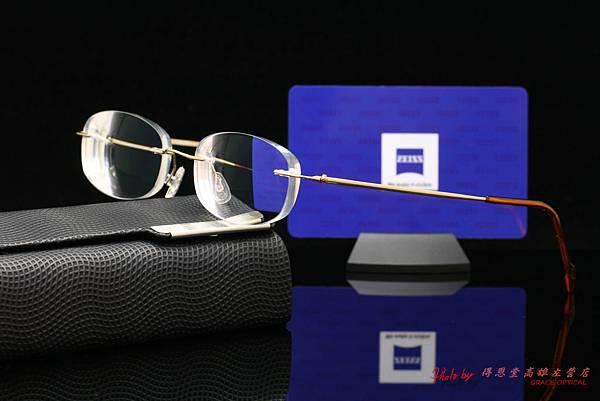 蔡司ZEISS 1.67個人化單光鑽立方鉑金鍍膜鏡片