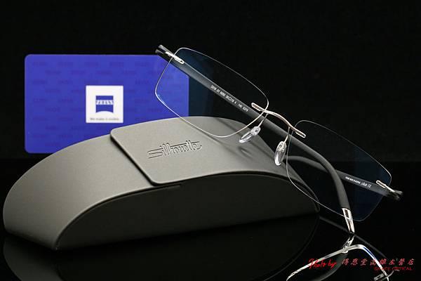 Silhouette 奧地利詩樂眼鏡 SPX SIGNIA 無邊鏡架&蔡司ZEISS1.6非球面單光鑽立方鉑金鍍膜鏡片