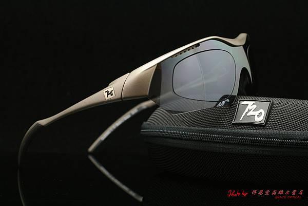 720armour HITMAN 近視有度數白色鍍膜太陽眼鏡