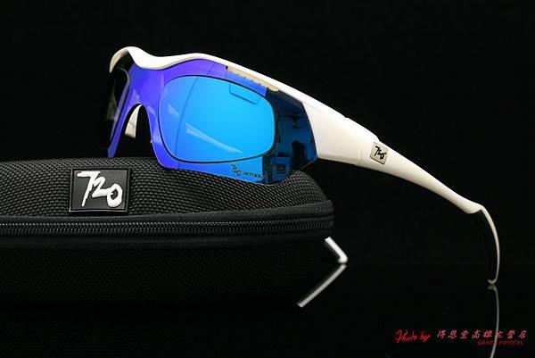 720armour HITMAN 近視有度數藍色鍍膜太陽眼鏡