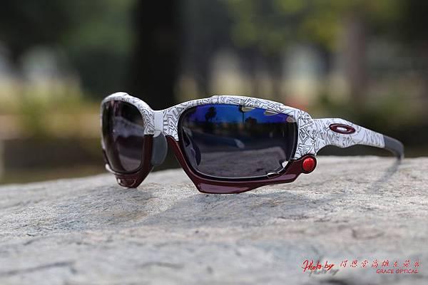OAKLEY RACING JACKET Custom運動太陽眼鏡 & 高階第七代全視線視無限SPORT運動版運變色鏡片