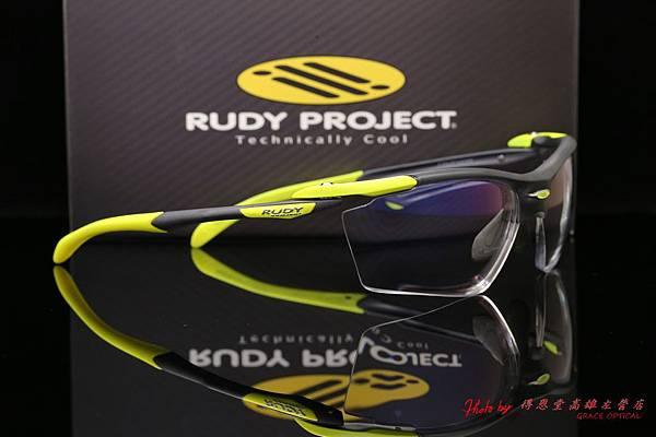 Rudy Project ProFlow 運動太陽眼鏡 & 高階第七代全視線視無限SPORT運動版運變色鏡片