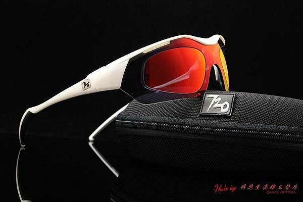 720armour HITMAN 近視有度數紅色鍍膜太陽眼鏡