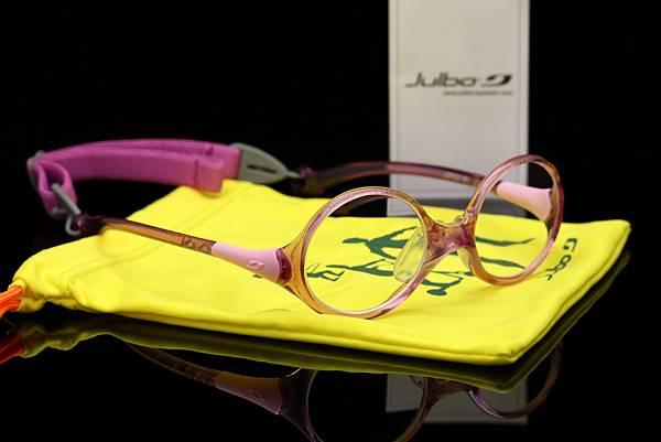 法國 Julbo TANGO兒童光學眼鏡 & FUJI LENS超視能日本原裝鏡片