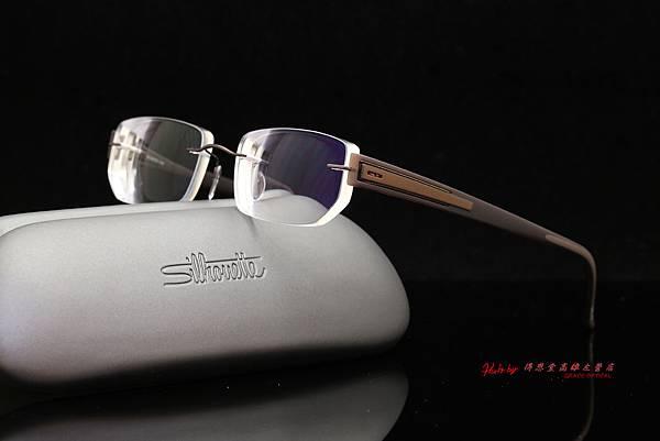 Silhouette奧地利詩樂眼鏡 SPX CONNECTION 無螺絲設計無重量無邊鏡架