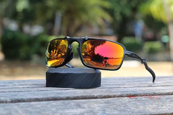 Oakley X-metal BADMAN RUBY IRIDIUM POLARIZED OO6020-03 太陽眼鏡
