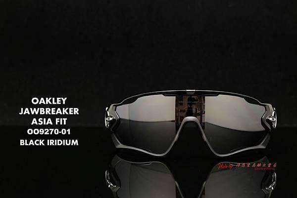 OAKLEY JAWBREAKER OO9270-01 Asia Fit 運動型太陽眼鏡 高雄得恩堂左營店