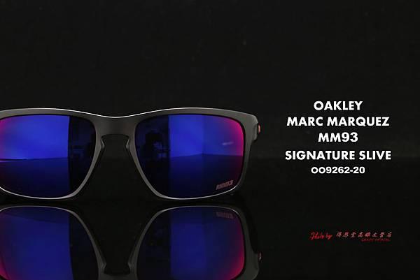 OAKLEY Marc Marquez Signature Sliver OO9262-20 馬克 馬爾克斯聯名版太陽眼鏡 高雄得恩堂左營店