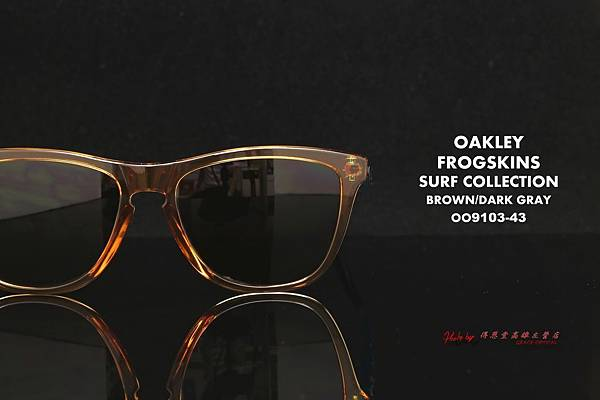 OAKLEY FROGSKINS ASIAN FIT SURF COLLECTION OO9245-14 太陽眼鏡 高雄得恩堂左營店