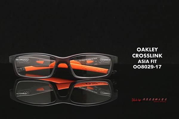 Oakley Crosslink OX8029-17 ASIAN FIT(亞洲版) 高雄得恩堂左營店專業銷售店