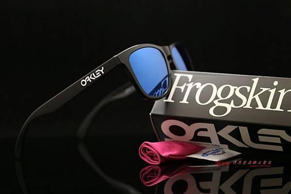 OAKLEY FROGSKINS ASIAN FIT OO9245-06 太陽眼鏡&近視有度數藍水銀鏡片 高雄得恩堂左營店