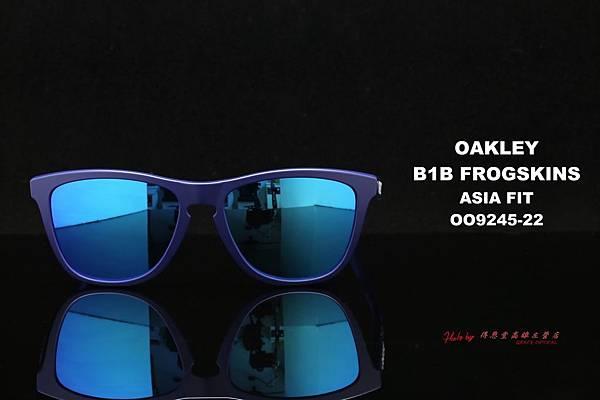 OAKLEY FROGSKINS ASIAN FIT OO9245-22 太陽眼鏡 高雄得恩堂左營店