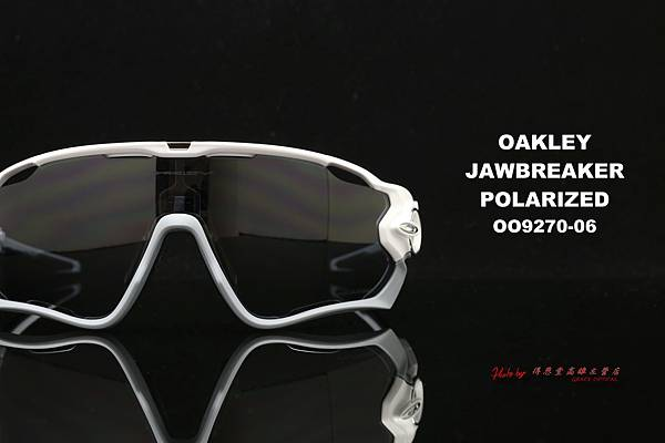 OAKLEY JAWBREAKER POLARIZED OO9290-06 運動型太陽眼鏡 高雄得恩堂左營店