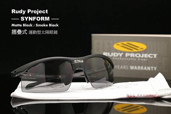 Rudy Project Synform 消光黑折疊式運動型太陽眼鏡