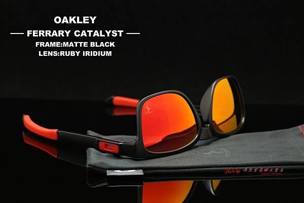 OAKLEY FERRARI CATALYST OO9272-07 法拉利聯名款太陽眼鏡