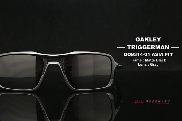 Oakley TRIGGERMAN OO9314-01 ASIAN FIT(亞洲版) 高雄得恩堂左營店