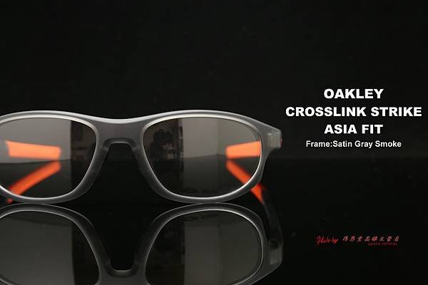 OAKLEY CROSSLINK STRIKE ASIA FIT OX8067-04 光學近視眼鏡 高雄得恩堂左營店