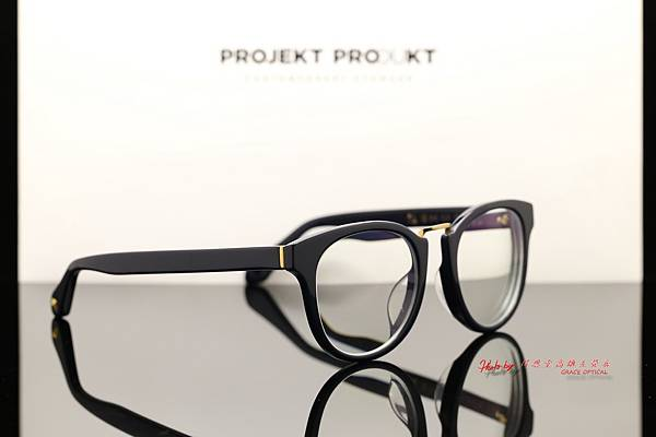 PROJEKT PRODUKT G-2 韓國時尚眼鏡 &高清UV420濾藍光鏡片