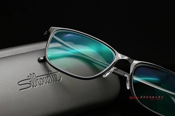Silhouette奧地利詩樂眼鏡SPX ILLUSION FULLRIM & FUJI高清UV420濾藍光鏡片 高雄得恩堂左營店
