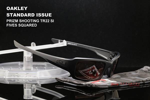 OAKLEY STANDARD ISSUE PRIZM SHOOTING TR22 SI FIVES SQUARED OO9238-14 射擊專用眼鏡 高雄得恩堂左營店