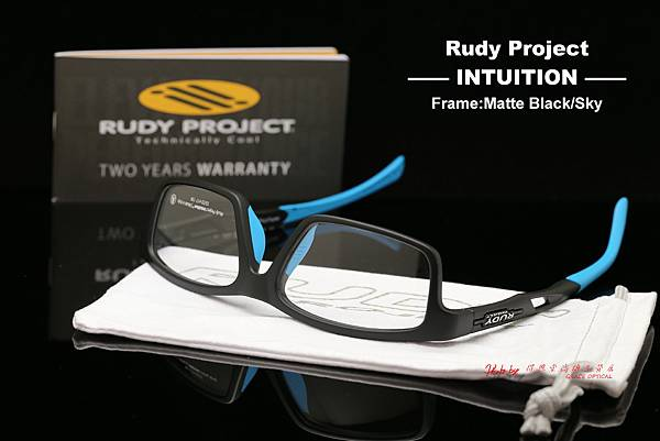 Rudy Project INTUITION Matte Black- Sky 光學眼鏡 高雄得恩堂左營店