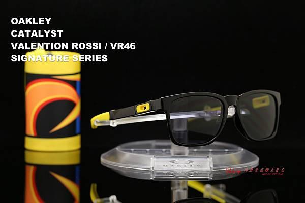 OAKLEY CATALYST VALENTINO ROSSI VR/46 OO9272-17 羅西聯名版太陽眼鏡 高雄得恩堂左營店