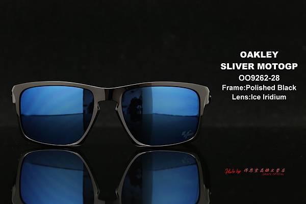 OAKLEY SLIVER MOTOGP世界摩托車競賽聯名款 OO9262-28 太陽眼鏡 高雄得恩堂左營店