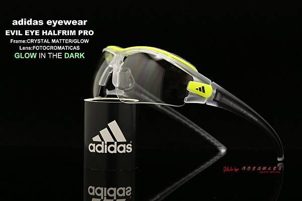 adidas eyewear EVIL EYE HALFRIM PRO L 愛迪達邪惡之眼 夜行鏡 變色鏡片款運動型太陽眼鏡 高雄得恩堂左營店
