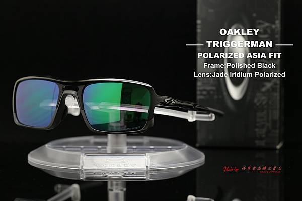 Oakley TRIGGERMAN POLARIZED OO9314-02 ASIAN FIT(亞洲版) 高雄得恩堂左營店