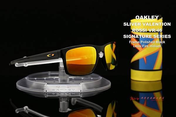 OAKLEY VALENTINO ROSSI SLIVER OO9262-27 羅西聯名版太陽眼鏡 高雄得恩堂左營店