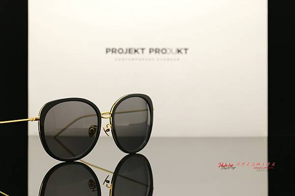 PROJEKT PRODUKT GL12 Col.01G 韓國時尚太陽眼鏡 高雄得恩堂左營店