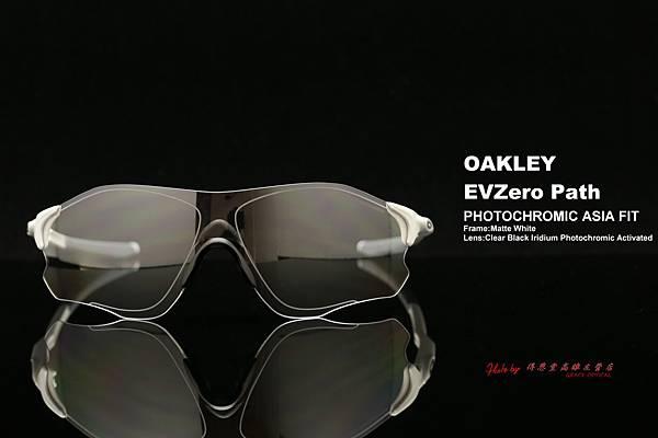 OAKLEY EVZERO PATH PHOTOCHROMIC ASIA FIT OO9313-06 變色款運動型太陽眼鏡 高雄得恩堂左營店