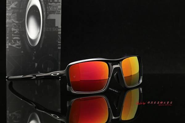 Oakley TRIGGERMAN OO9314-01 & 高階SPORT偏光彩色紅水銀近視有度數鏡片 高雄得恩堂左營店