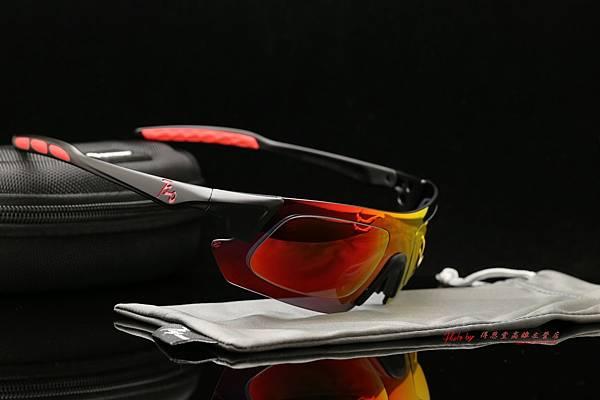 720armour KAMIKAZE CRX 近視有度數彩色紅鍍膜偏光運動型太陽眼鏡 高雄得恩堂左營店